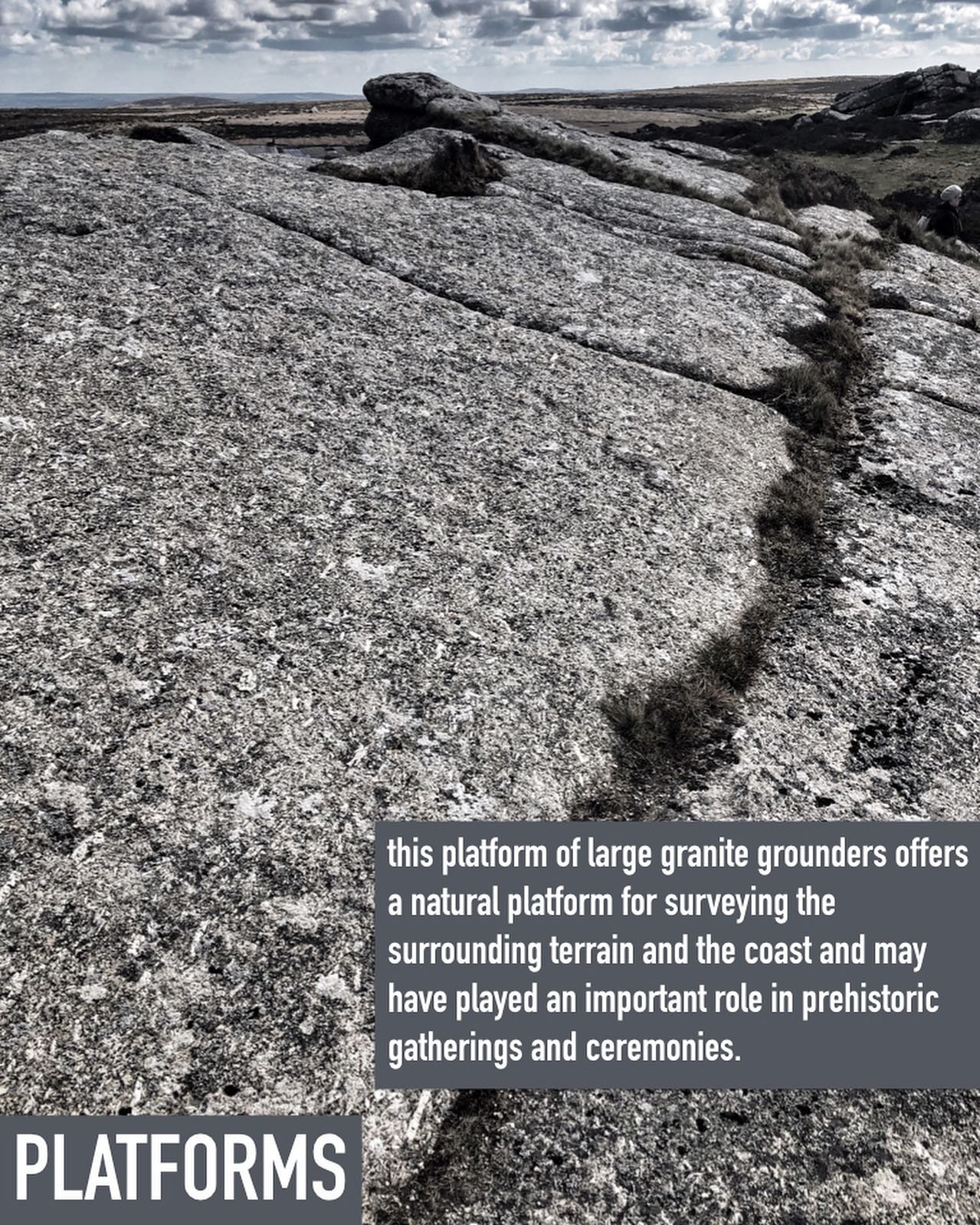 this viewing platform of large granite grounders offers a natural amphitheatre for surveying the surrounding terrain and the coast and may have played an important role in prehistoric gatherings and ceremonies. these special places have always played such a role throughout our human history in marking out the terrain to come together, take respite and to exchange stories and goods.#gathering, #prehistory, #prehistoricsites, #prehistoriclandscape, #exchange, #ancientsites, #ancientsite, #ancientwisdom, #gatheringplaces, #naturalamphitheatre, #ancientamphitheatre, #specialsites, #zennorhill, #westpenwith,#montagecity.com